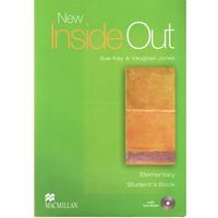 Książki do nauki języka, New Inside Out Elementary Student's Book (podręcznik) (opr. broszurowa)