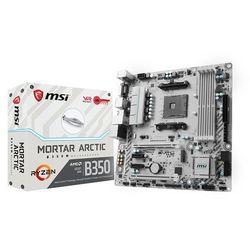 Płyta główna MSI B350M Mortar Arctic, DDR4, SATA3, USB 3.1 gen. 1, uATX (7A37-001R) Darmowy odbiór w 20 miastach!