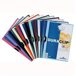 Skoroszyt z klipsem Durable Duraclip Original 60 kartek żółty 220904