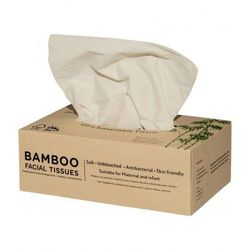 Bambusowe chusteczki higieniczne z bawełną 100 szt.- ZUZii