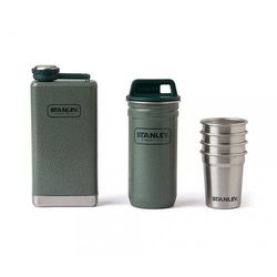 Zestaw STANLEY Adventure Steel Shots + Flask Gift Set (zielony)