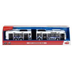 Autobus City Express 46 cm biało-niebieski