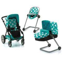 Wózki dla lalek, Hauck wózek dla lalek Set Icoo - aqua - BEZPŁATNY ODBIÓR: WROCŁAW!