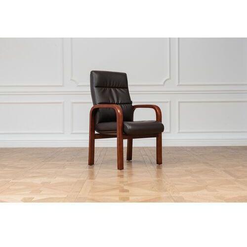 Fotele i krzesła biurowe, Krzesło biurowe PROGRESS brązowy