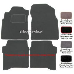 Nissan dywaniki samochodowe welurowe