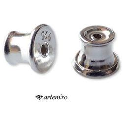 Zatyczki na sztyfty srebrne