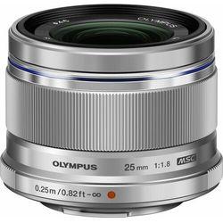 Obiektyw OLYMPUS M.Zuiko Digital 25mm f/1.8 Srebrny