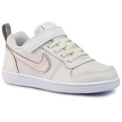 Buty NIKE - Court Borough Low (Psv) 870028 007 Mtlc Red Bronze/White