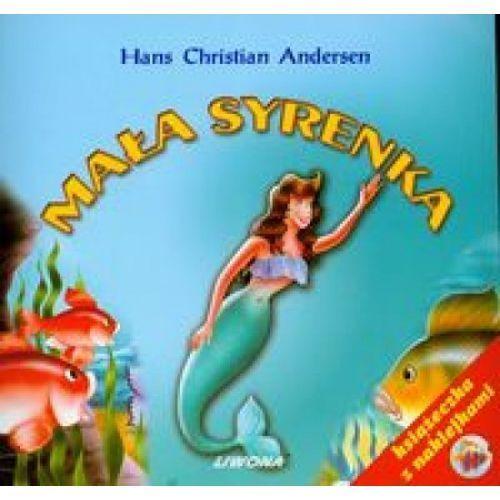 Książki dla dzieci, Mała Syrenka z naklejkami (opr. miękka)
