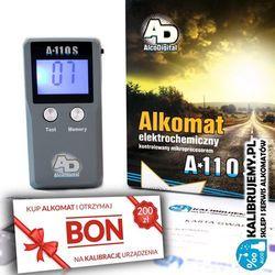 Alkomat AlcoDigital A-110S pakiet FIRMA PLUS BON 200 zł na kalibrację