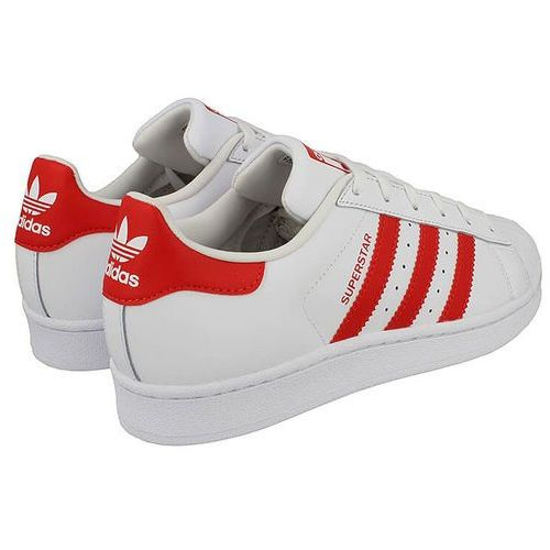 Buty sportowe dla dzieci, ADIDAS ORIGINALS Trampki 'SUPERSTAR J' czerwony / biały