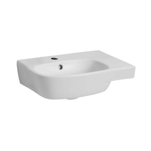 Umywalki, KOŁO Umywalka asymetryczna STYLE 45 cm, prawa z otworem/REFLEX Kod produktu: L22145-900