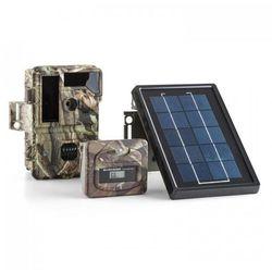 DURAMAXX Solar Grizzly Aparat przyrodniczy Zestaw Czarny LED HD 8 MP Panel słoneczny