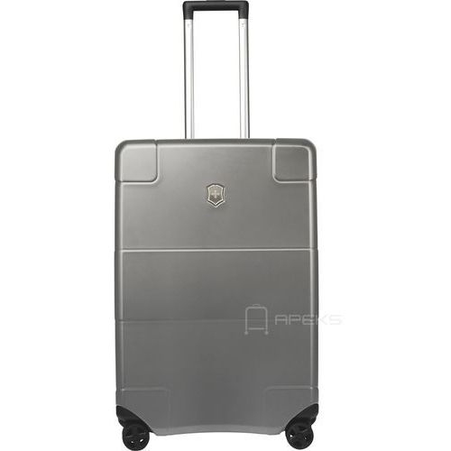 Torby i walizki, Victorinox Lexicon Hardside średnia walizka 68 cm / szara - Titanium ZAPISZ SIĘ DO NASZEGO NEWSLETTERA, A OTRZYMASZ VOUCHER Z 15% ZNIŻKĄ
