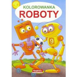 Kolorowanka Roboty - Praca zbiorowa