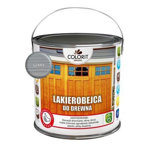 Lakierobejce, Lakierobejca do drewna Colorit Drewno szara 2,5 l
