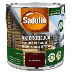 SADOLIN LAKIEROBEJCA ODPORNA, palisander, 2.5l (na trudne)