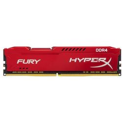 HYPERX DDR4 Fury Red 8GB/2400 HX424C15FR2/8