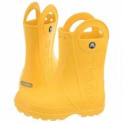 Kalosze Handle Rain Boot Kids Yellow - Crocs - Rozm 22-34