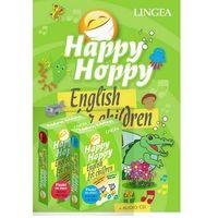 Książki do nauki języka, Pakiet Happy Hoppy. English for children - (opr. twarda)