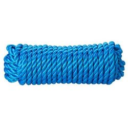 Lina skręcana polipropylenowa Diall 12 mm x 15 m niebieska