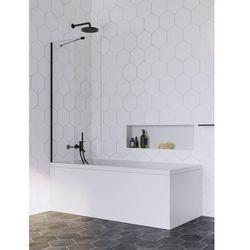 Radaway parawan nawannowy Idea Black PNJ 60 cm, szkło przejrzyste, wys. 150 cm 10001060-54-01