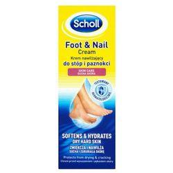 SCHOLL 60ml Krem nawilżający do stóp i paznokci sucha skóra