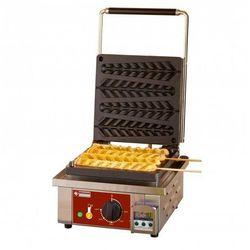 Gofrownica elektryczna do gofrów na patyku | na 4 sztuki | timer | 1600W | 230V | 305x440x(H)230mm