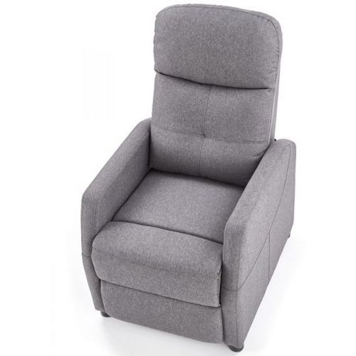 Fotele, Fotel Felipe szary rozkładany kolor szary