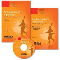 Książki do nauki języka, Nous apprenons le polonais +MP3 NOWE WYDANIE (opr. broszurowa)