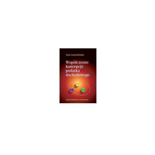 Książki o biznesie i ekonomii, Współczesne koncepcje podatku dochodowego (opr. kartonowa)