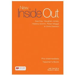 New Inside Out Pre-intermediate: Teacher´s Book with eBook and Test CD Pack Kay, Sue