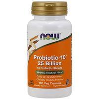 Witaminy i minerały, NOW FOODS Probiotic-10, 25 Billion - 100 kapsułek