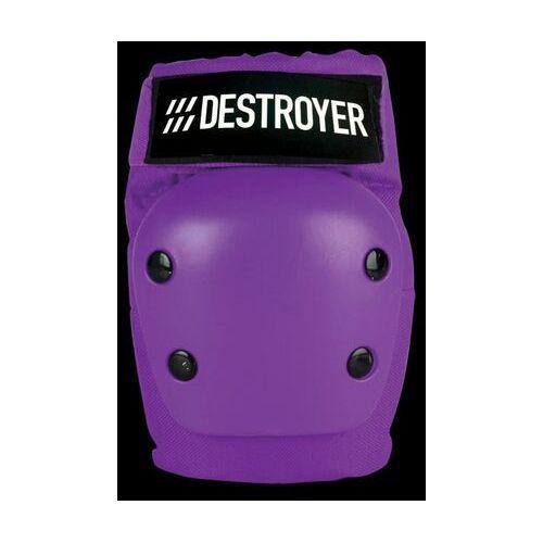 Ochraniacze na ciało, ochraniacze na łokcie DESTROYER - Rec Elbow Purple (PRP) rozmiar: S
