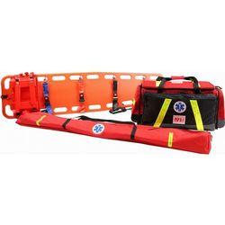 Zestaw ratowniczy PSP R1 w torbie z szynami kramera i deską