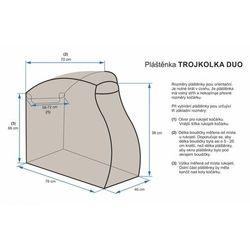 Emitex osłona przeciwdeszczowa na wózek trójkołowy Duo - BEZPŁATNY ODBIÓR: WROCŁAW!