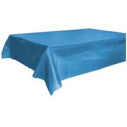 Obrus foliowy niebieski - 120 x 140 cm - 1 szt.