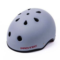 kask PRO-TEC - Classic Pro Hassan Matte Grey Red (MATTE GREY-RED) rozmiar: XL