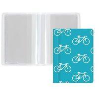 Pozostałe artykuły papiernicze, Okładka etui na dokumenty i karty mini rower - rower