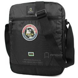 "National Geographic EXPLORER torba na ramię / laptop 13.3"" / N01104.06 - czarny"