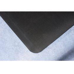Mata ochronna do spawania, ergonomiczna, czarna, na mb, szer. 900 mm. Dwuwarstwo