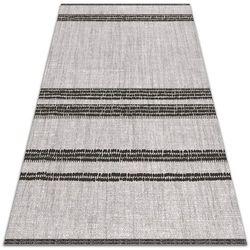 Nowoczesny dywan na balkon wzór Nowoczesny dywan na balkon wzór Szary w linie