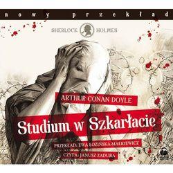 Studium W Szkarłacie. Książka Audio Cd Mp3