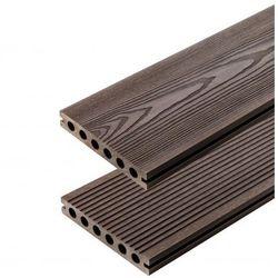 Deska Eco Travers 3D deseń drewna/17r Ciemny Brąz 3000 x 140 x 23