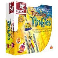 Pozostałe artykuły szkolne, Udekoruj dzwonki wietrzne Terra cotta Tinkles - DARMOWA DOSTAWA OD 199 ZŁ!!!