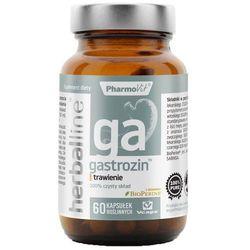 Gastrozin z dodatkiem BioPerine 60 kapsułek Vcaps PharmoVit Herballine
