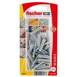 Kołki rozporowe z wkrętami Fischer SX 5 x 25 mm 25 szt.
