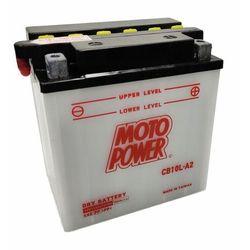 Akumulator motocyklowy Moto Power CB10L-A2 YB10L-A2 12V 11Ah 160A EN P+