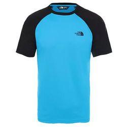 Męski T-shirt The North Face Tanken Raglan Tee acoustic blue/black
