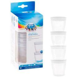 Pojemniki do przechowywania mleka/pokarmu 4szt. 180 mlCanpol
